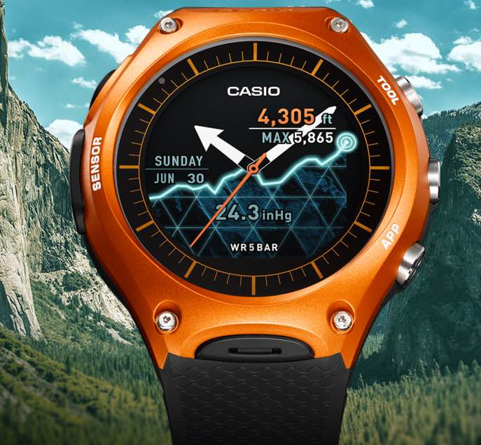 Casio's Smart Outdoor Watch Meets Military Standards for Toughness