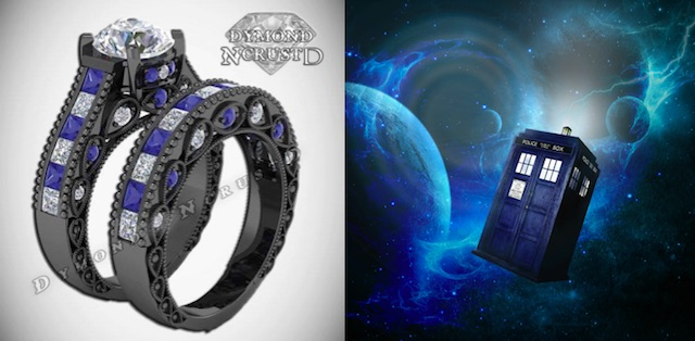 gamer nerdy controller bands trends rings wedding