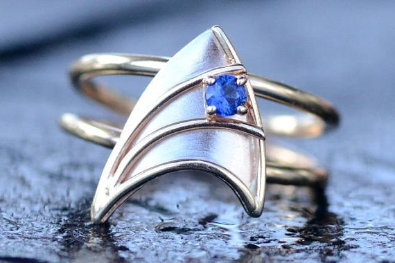 27 geeky engagement rings to honor and cherish the nerd of your dreams - Nerd Wedding Rings