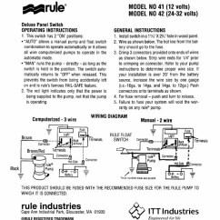 Bilge Pump Float Switch Wiring Diagram 120 240 C22 Electrical Schematics
