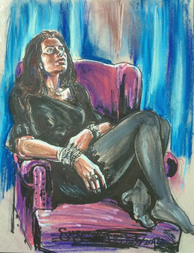 Portrait of Anna May 3 2018 by Suzanne Forbes