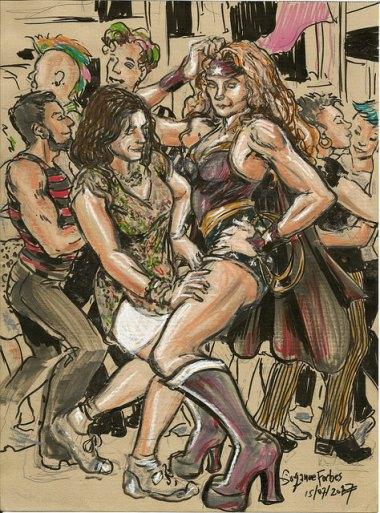 Wonder Woman at the Berlin Lesben and Schwules Pride July 2017