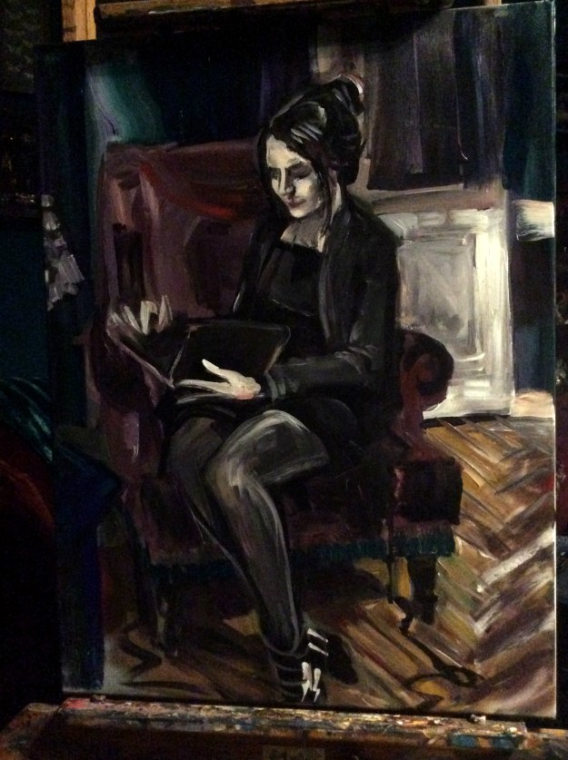 Portrait of Daria first sitting Suzanne Forbes March 19 2019