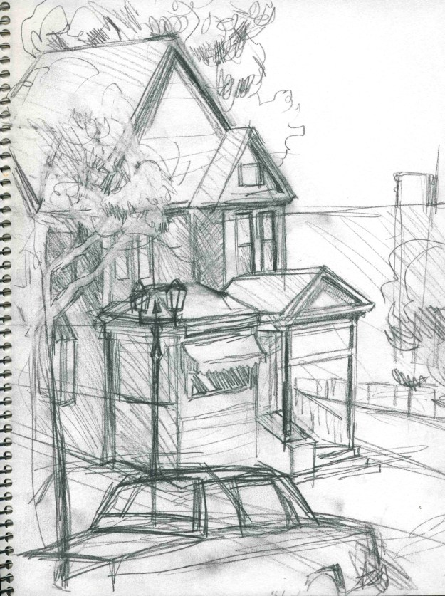Sketchbook Fall 1990 Minneapolis by Rachel Ketchum aka Suzanne Forbes