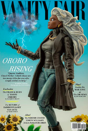 Ororo Rising Vanity Fair cover by Madd Lion Dec 2019