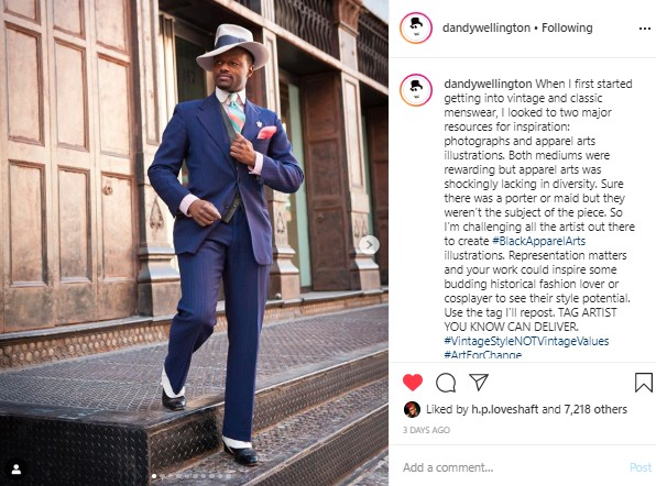 Dandy Wellington Instagram