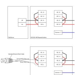 Rj45 To Rj11 Adapter Wiring Diagram Electrical Car Toyota Fieldserver 485 Connection Isolator Icd102a | Chipkin Automation Systems