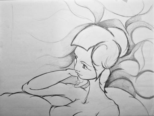 Zhanna Pencil Study