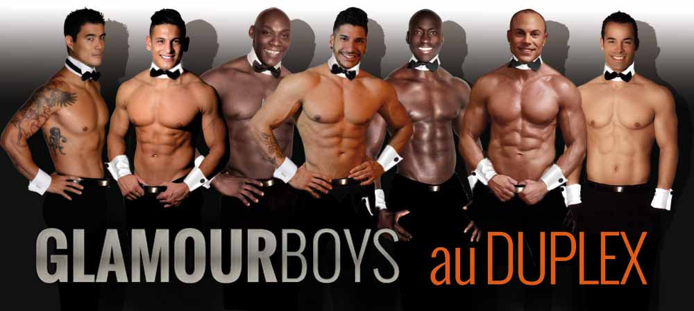 Glamour boys diner spectacle chippendales