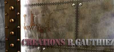 décoration murs métal style industriel