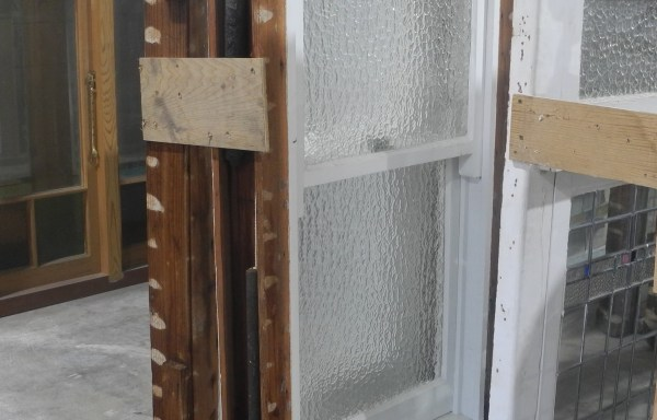 Pair Obscure Double Hung Windows  006