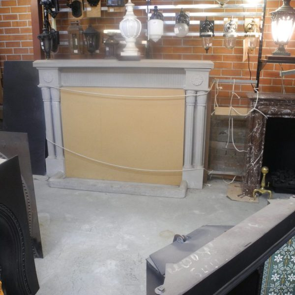 stone marble fire surround secondhand hand original sydney marblestone marble fire surround