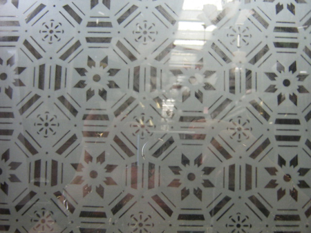 Etched Glass Pattern 7