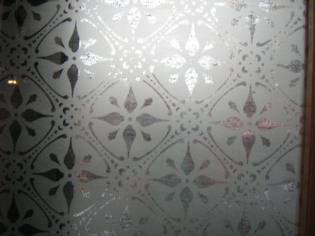 new etched glass pattern 5mm and 3mm number 1