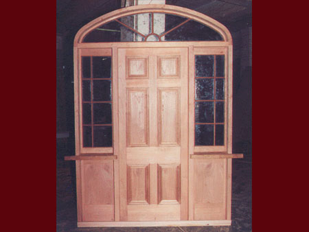 past joinery job colonial style entranceway