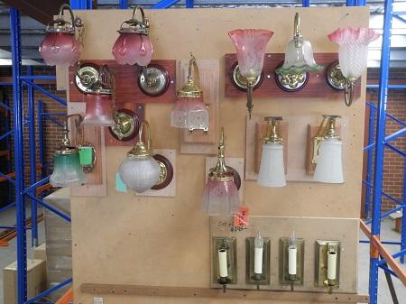 original gas light wall bracket electrifed