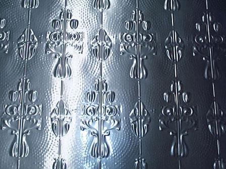 pressed tin panels aluminium reproduction posy