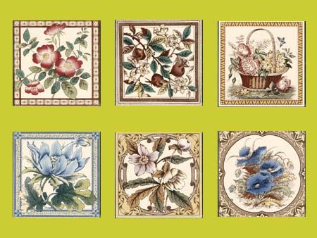 Stovax Printed Singles Tiles