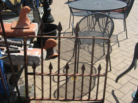 Small Cast Iron Gate