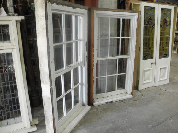 pair original second hand sydney doublehung hung windows colonial style