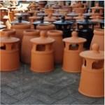 pots chimney terracotta