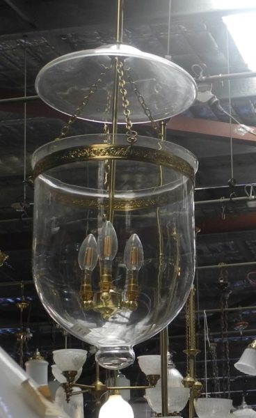 305 float sydney new repro reproduction3 chain Victorian federation Edwardian Art Deco lites lighting lights 3 chain single chain rod rods brass glass bowl
