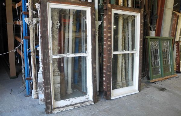 Pair Double Hung Windows  055