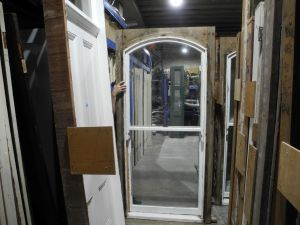 original second hand flat arched victorian double hung window