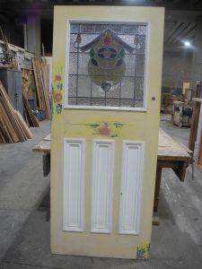 sydney original second hand Edwardian 1920 s lead light front door