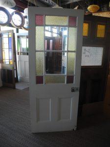 original secondhand victorian gallery door