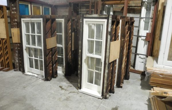 Set Of 11 Colonial Double hung Windows   035