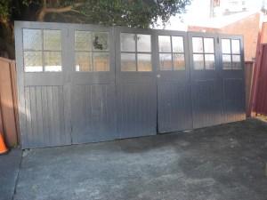Original Set of Garage Doors