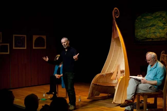 chippendale rocking chair unfinished adirondack chairs lowes school student's takes centre stage at scottish international storytelling ...