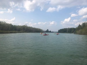 Kayaking the St Marys River