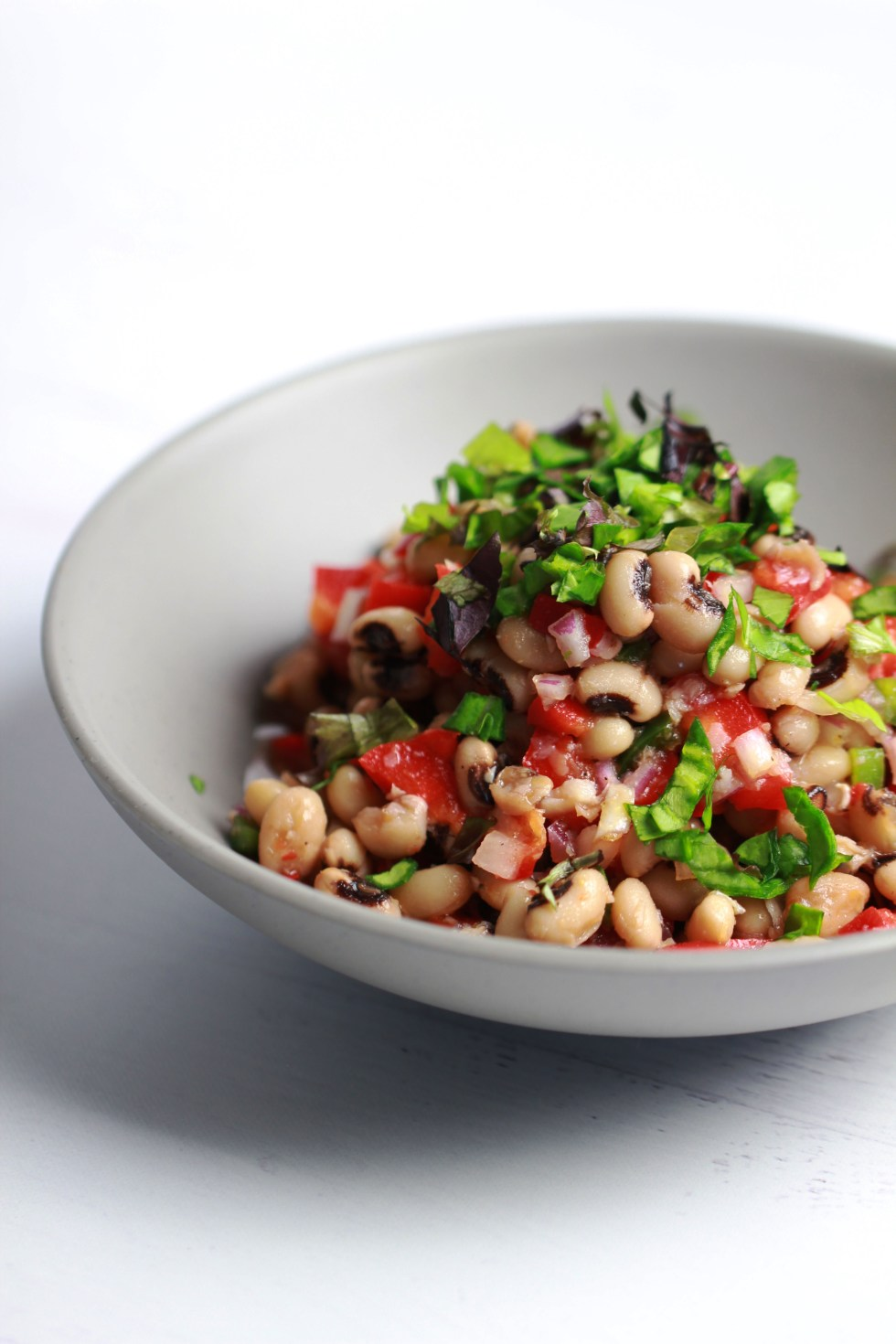 black eye pea salad