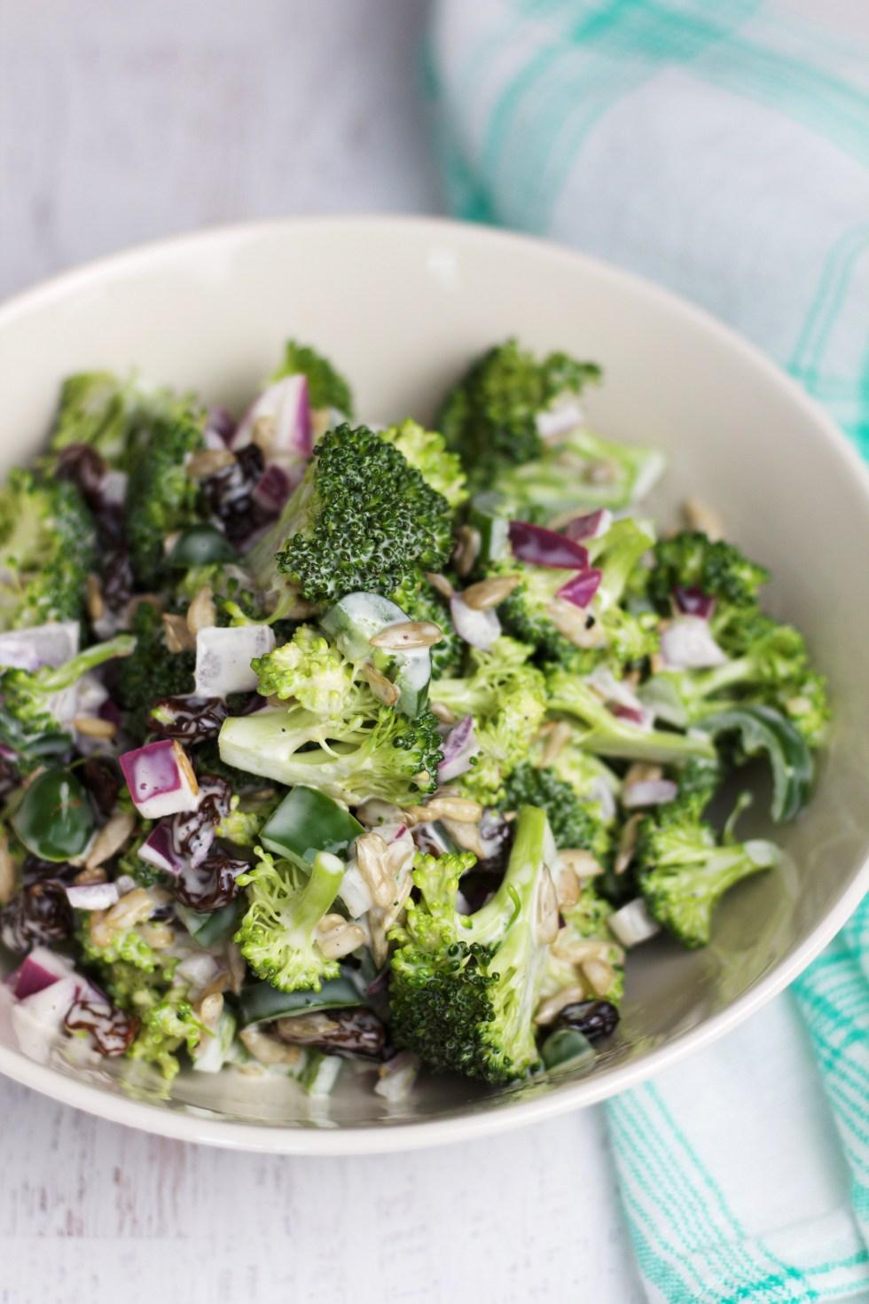 Spicy Broccoli Salad