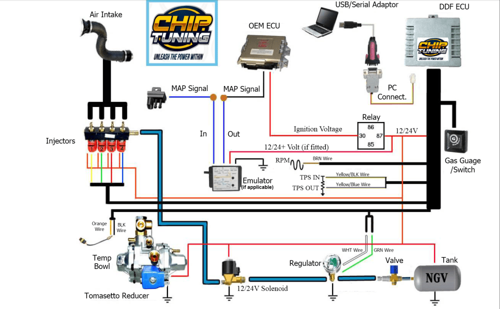 medium resolution of system schematic old d gas eco gas tpi diesel gas system fix lpg wiring diagram cars