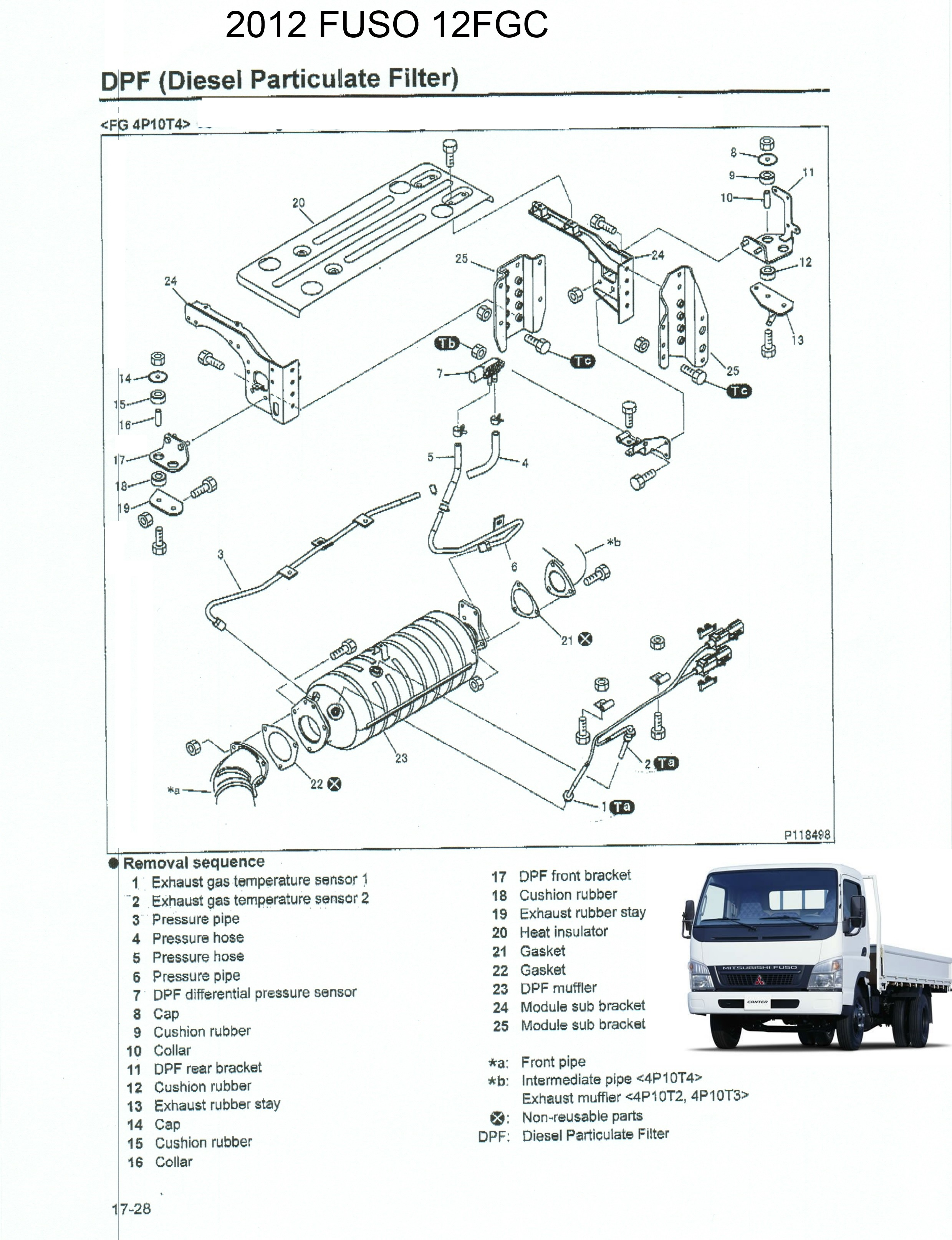 Mitsubishi Fgc15 Parts Schematic