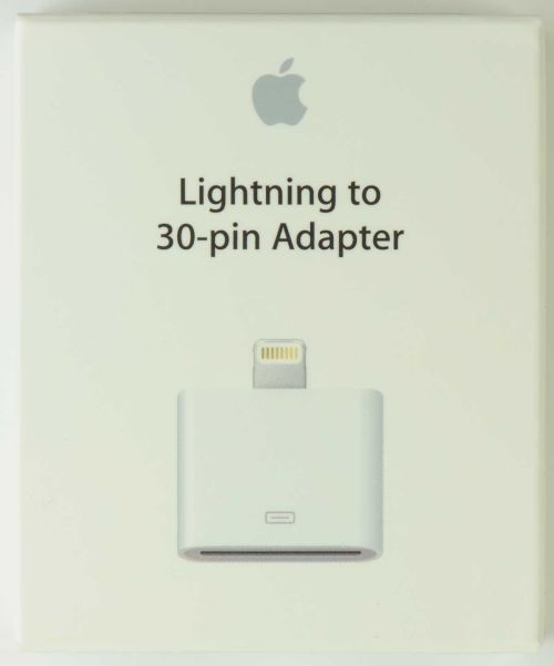 small resolution of apple lightning to 30 pin adapter