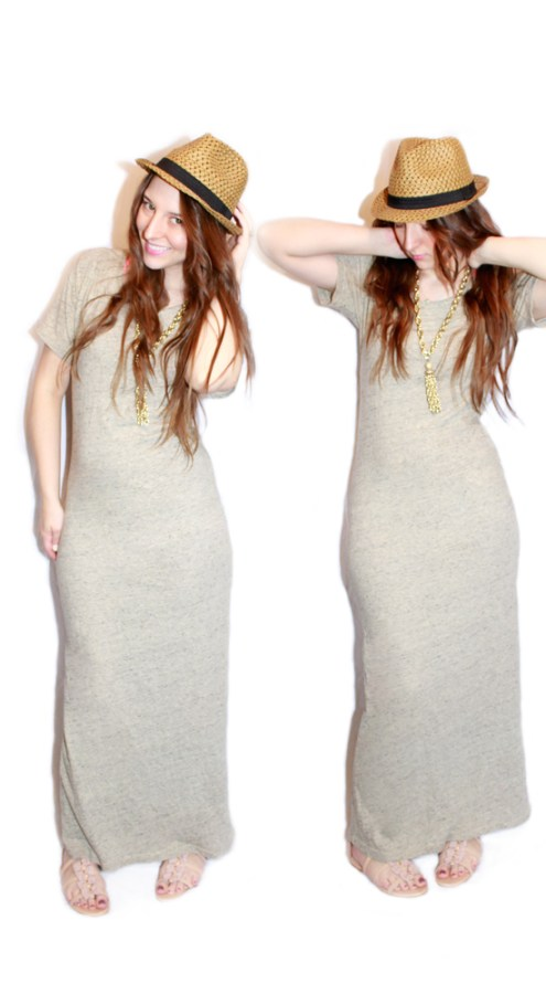 full length maxi dress