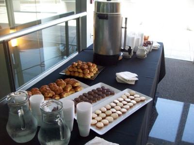 Estacion de Cafe para Eventos  Lapsus Eventos  Tel 374 7470