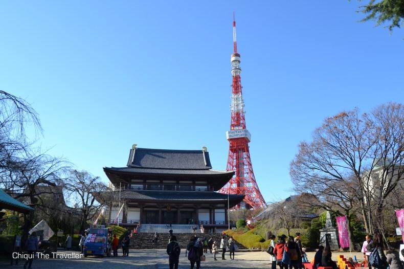 Templo Tokio Zojoji