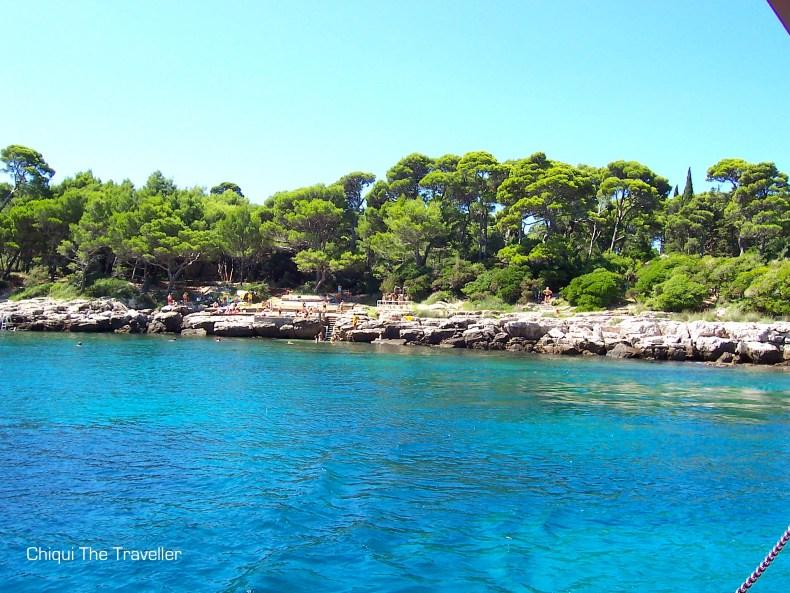 Lokrum Dubrovnik isla Croacia