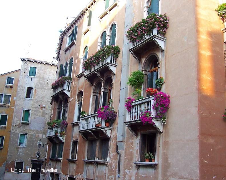 Venecia balcones