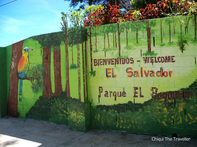 Bienvenidos Parque El Boqueron