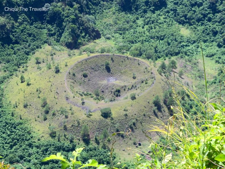 Crater volcan san salvador el boqueron