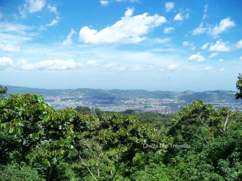 Vista desde volcán de San Salvador 2