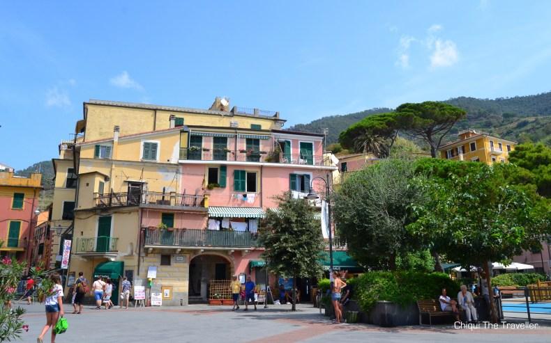 Monterosso al Mare plaza