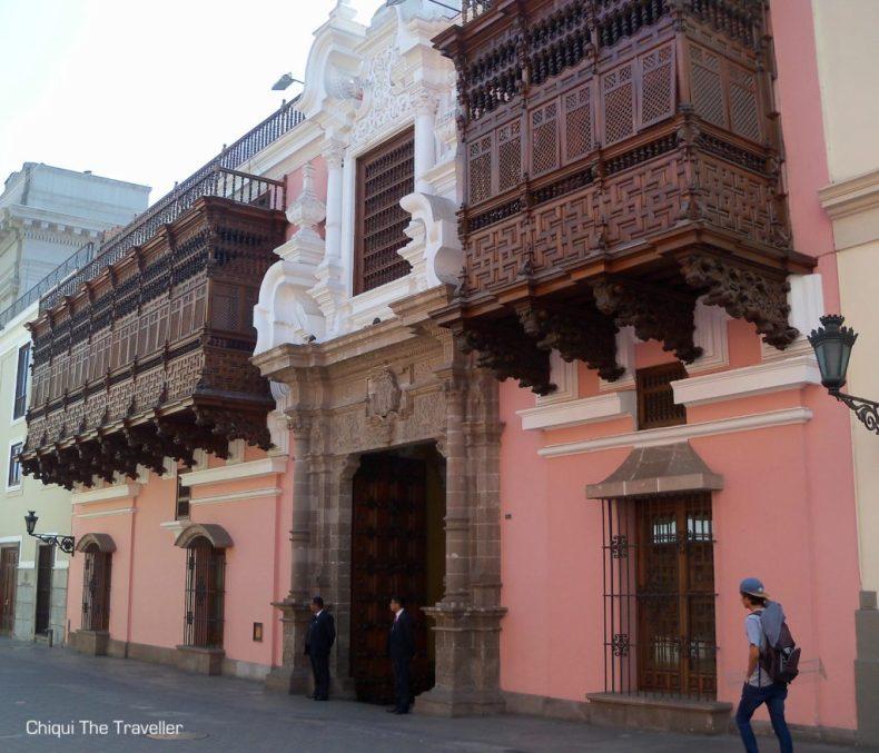 Lima casas coloniales