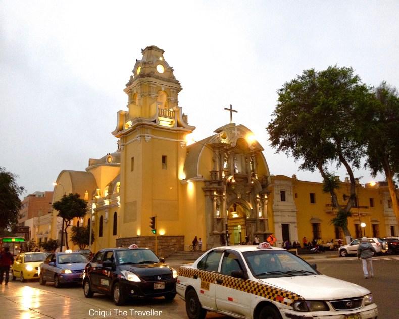 Plaza de Armas de Barranco Lima